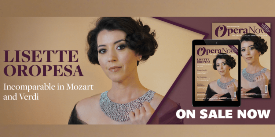 Lisette Oropesa on the cover of Opera Now